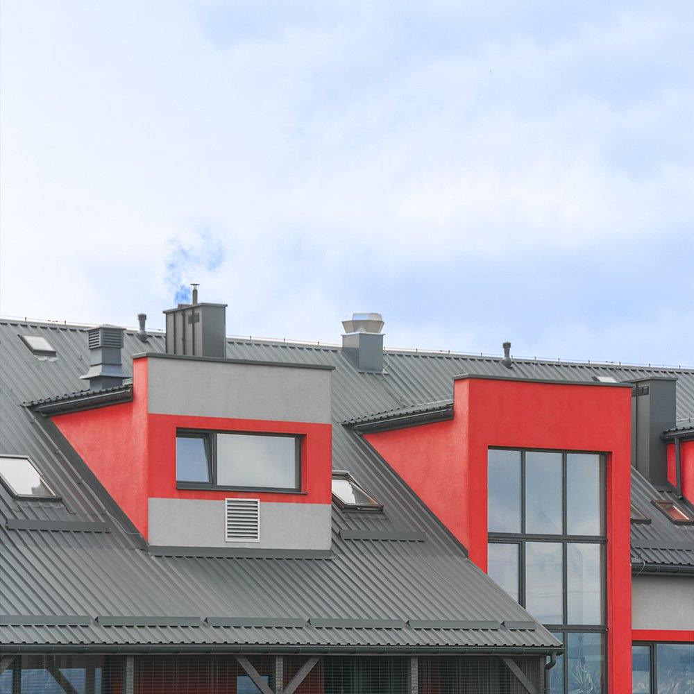 Jumtu segumi - metāla jumti - trapecveida profils